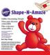 Red Shape-N-Amaze Edible Decorating Dough