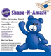 Blue Shape-N-Amaze Edible Decorating Dough