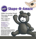 Black Shape-N-Amaze Edible Decorating Dough