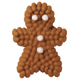 Mini Gingerbread Man Icing Decorations