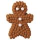 Mini Gingerbread Man Icing Decorations