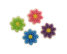 Mini Flower Icing Decorations
