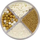 Pearlized Gold Sprinkle Mix