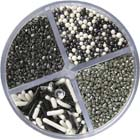 Pearlized Silver Sprinkle Mix