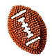 Football Icing Decorations/Sugar Layon