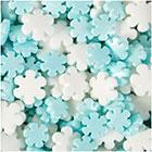 Pearlized Snowflake Sprinkles