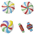 Colorful Candy Icing Decorations