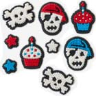 Birthday Pirate Icing Decorations