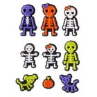 X Ray Skeleton Icing Decorations