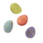Sweet Splatter Eggs Candy Decorations