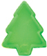1/2 lb. Green Christmas Tree Candy Box with Clear Lid