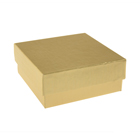 4 Pc. Gold Candy Box