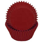 Deep Red Standard Baking Cups