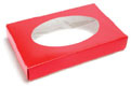 1/2 lb. Red Candy Box with Window