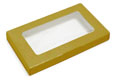 Gold Business Card Candy Box