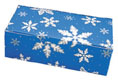 1 lb. Blue Snowflake Candy Box