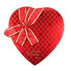 1 lb. Red Heart Candy Box with Lid