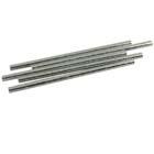 Metallic Silver Paper Straws