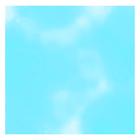 """6 x 6"""" Foil Wrapper Blue"""