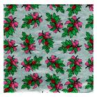"3 x 3"" Foil Wrapper Holly Bough"