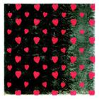 "4"" x 4"" Foil Wrapper Heart Print"