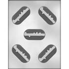 Congratulations Sandwich Cookie Chocolate Mold