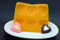 Heart Flexible Rubber Candy Mold