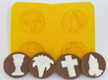 Communion/Confirmation Rubber Candy Mold