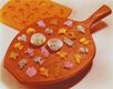 Fruit & Flower Asst. Rubber Candy Mold