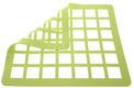 Chablon SiliconeChocolate Template- Square