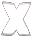 Letter X Cookie Cutter