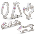 Tribal Cookie Cutter Set