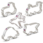 Transportation Cookie Cutter Set