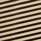 Chocolate Transfer Sheet - White Classic Stripe