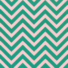 Chocolate Transfer Sheet - Aqua Chevron