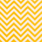 Chocolate Transfer Sheet - Gold Chevron