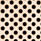 Chocolate Transfer Sheet - Black Dots