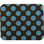Chocolate Transfer Sheet - Blue Dots