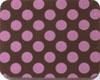 Chocolate Transfer Sheet - Pink Dots