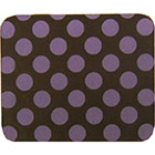 Chocolate Transfer Sheet - Purple Dots