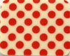 Chocolate Transfer Sheet - Red Dots