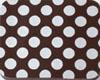 Chocolate Transfer Sheet - White Dots