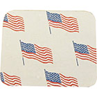 Chocolate Transfer Sheet - American Flag