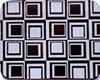 Chocolate Transfer Sheet - Hip Square