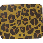 Chocolate Transfer Sheet - Leopard (Gld & Tan)