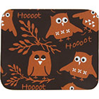 Chocolate Transfer Sheet - Owl