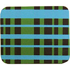 Chocolate Transfer Sheet - Blue and Lime Plaid