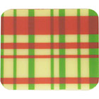 Chocolate Transfer Sheet - Red and Green Plaid