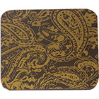 Chocolate Transfer Sheet - Paisley Gold