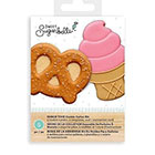 Snack Time Cookie Cutter Stencil Set by Sweet Sugarbelle